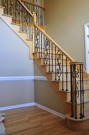 home depot stair railings interior pre made stair railings exterior wrought iron railing cost