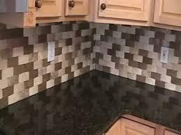 Backsplash With Speartec Basket Weave Travertine Tile YouTube - Basket weave tile backsplash