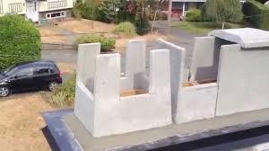 chimney rain cap installation for brick masonry chimney flue