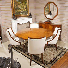 Dining Room Furniture Ebay Deco Antique Dining Sets Ebay Throughout Table Decor 12