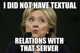 Hilary Meme - likeliked by 8 people hillary getting to know her