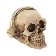 Skull Decorations For The Home Skulls Decorations Skull Decor For Bedroom Rockin U0027 Headphone