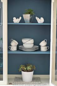 dining room hutch makeover guest post country chic paint