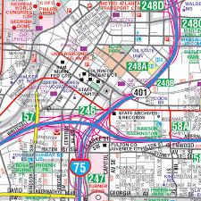 map of atlanta metro area atlanta map the capital of atlanta map metro