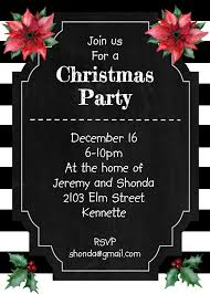 christmas cookie party invitations christmas holiday party invitations designs for 2017