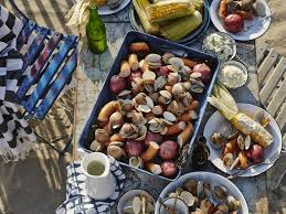 clam bake on the beach recipe seasons there and clams