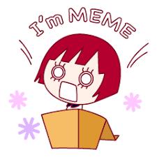 Meme Store - the shy girl meme line stickers line store
