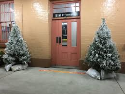 Snow Flocking For Christmas Trees by Snow Flocking