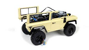 lego jeep trekk 4x4 prototype lego rc land rover defender video