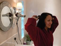 Wall Mount Hair Dryers Wall Mount Blow Dryer Holder Bestie Brands