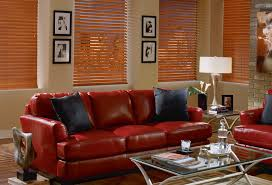 Hunter Douglas Wood Blinds Hunter Douglas Everwood Stained Blinds In Eclectic Living Room Jpg