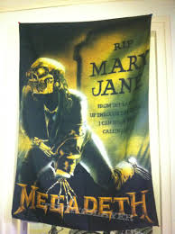 Ican Flag Mary Jane Flag From Megadeth Tshirtslayer Tshirt And