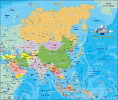 Map Of Europe And Asia by Map Of World Asia You Can See A Map Of Many Places On The List