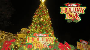 Is Six Flags Open On Christmas Holiday In The Park At Six Flags America 2016 Vlog Part 1 Youtube