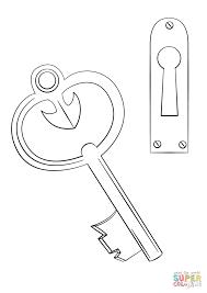 key coloring page printable key coloring page printable coloring