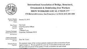 pando here s the letter a union leader sent to tim cook begging