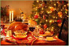 christmas dinner table decorations home design ideas