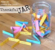 family thankfulness jar the realistic