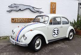 volkswagen beetle herbie 1969 vw beetle www greyhoundclassiccarhire co uk
