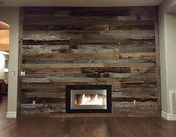 reclaimed wood accent wall wood from recwood planks in reclaimed wood wall fireplace trgn bbef1bbf2521