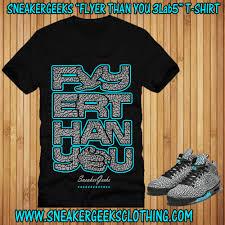 Jordan Clothes For Men Flyer Than You 3lab5 T Shirt To Match Jordan 5 Elephant 3lab5