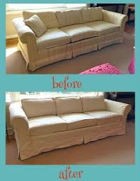 Making Slipcovers For Sofas 20 Diy Slipcovers Crafts Pinterest Drop Cloth Slipcover