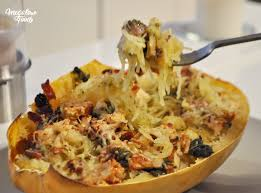 cuisiner courge courge spaghetti gratinée megalow food