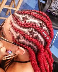 red cornrow braided hair 31 stylish ways to rock cornrows cornrows cornrow and hair style