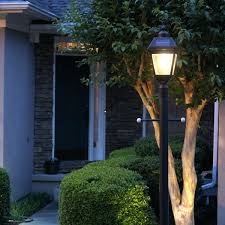 outdoor light post fixtures landscape light pole exterior mounted fixtures commercial