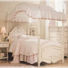 girls bed with canopy girls full canopy bed kidsbedsguide pictures beds for gallery