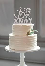 nautical themed wedding cakes amazing decoration anchor wedding cake topper wonderful ideas