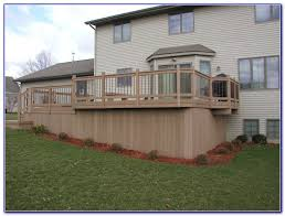 horizontal deck skirting ideas decks home decorating ideas