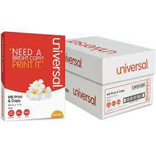 universal premium white copy paper unv91200 officesupply