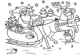 santa coloring pages coloringsuite com