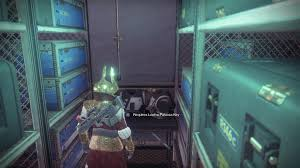 so i glitched my way into a locked room in destiny 2 and i found