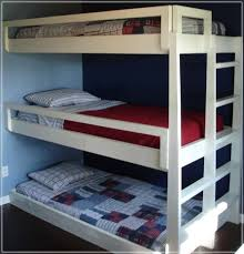 Three Person Bunk Bed 3 Person Bunk Bed Express Air Modern Home Design Furnitures