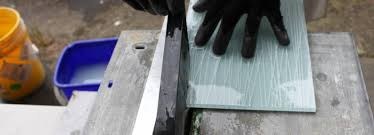 how to cut glass how to cut with a wetsaw about glass tile