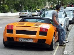 Lamborghini Gallardo Convertible - lamborghini gallardo spyder 17 june 2012 autogespot