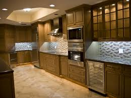 Exclusive Home Interiors Kitchen Cabinet Interiors Interior Oak Kitchen Cabinets