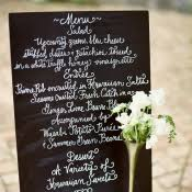 Chalkboard Wedding Programs Chalkboard Floral Wedding Paper Divas Elizabeth Anne Designs
