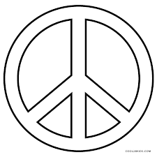 beautiful idea peace sign coloring pages lisa frank dog coloring