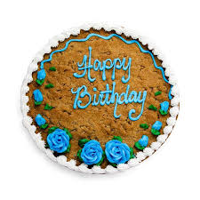 birthday cookie cake it s your birthday cookie cake the great cookie