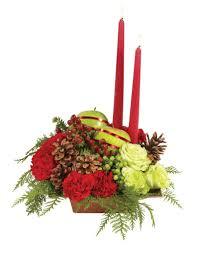 christmas centerpiece dandelions flowers u0026 gifts