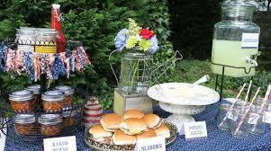 Backyard Bbq Wedding Ideas Triyae Com U003d Backyard Engagement Party Food Ideas Various Design