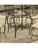 glass and metal dining table fascinating 90 round glass dining table with metal base design