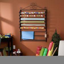 wrapping paper holder wrapping paper rack storage craft organizer quilt holder wall
