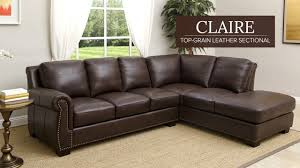 claire leather reversible sectional and ottoman claire leather reversible sectional and ottoman astounding