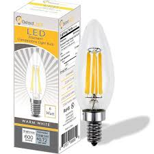 led candelabra light bulbs oxford light 60 watt led candelabra bulbs b10 led bulb 6 watt