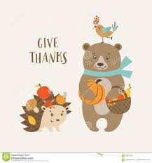 sign language thanksgiving cute thanksgiving card stock photos image 36422573