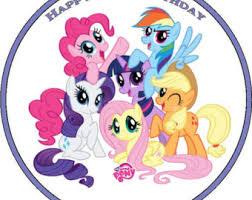 my pony cupcake toppers pony cake topper etsy